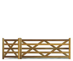 Field-Farm Gates - Hardwood