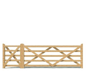 Field-Farm Gates - Wooden