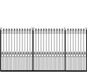 Metal-Sliding-Gate