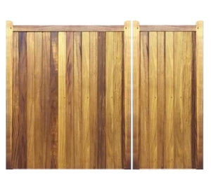 Split Gates - Hardwood