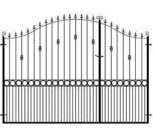 Split Gates - Metal