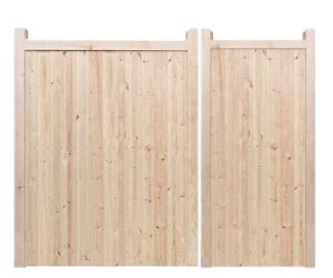 Split Gates - Wooden